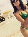 amateur photo Pouty Lipped Asian Bikini Babe