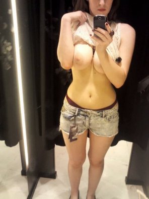 amateur photo She should buy those shorts