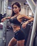 amateur photo Gym posing