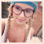 amateur photo Bree Olsen selfie