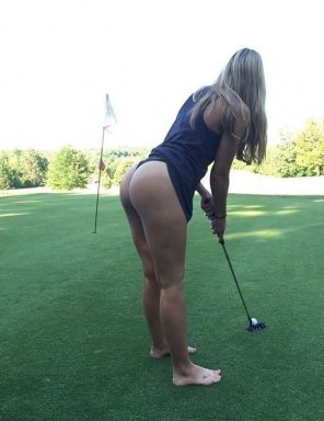 amateur photo Golfing