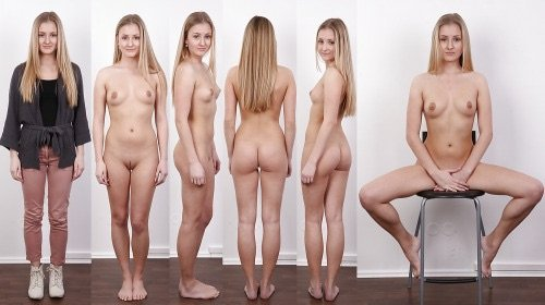 Blonde Profile Porn Photo