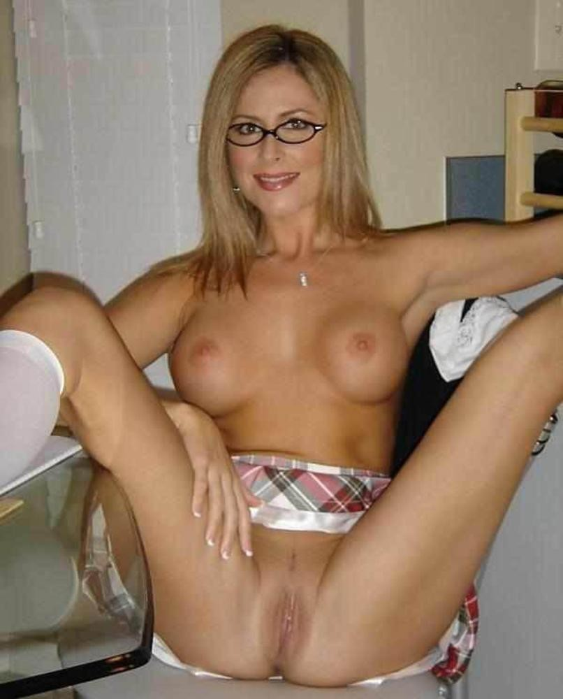 Apologise, but, nude milf with glasses think