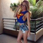 amateur photo Supergirl