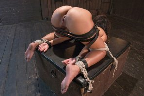 amateur photo A bit tied up
