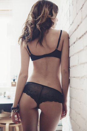 amateur photo Sheer lingerie