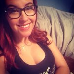 amateur photo Meg Turney looking lovely.