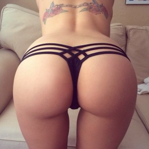 amateur photo Amazing thong