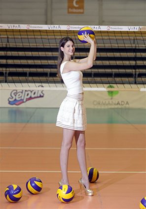 amateur photo Volleyball dress