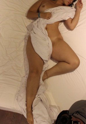 amateur photo Who also loves a bed with new sheets? ❤️