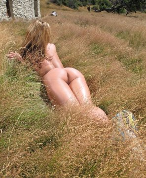 amateur photo Sheena Shaw outside