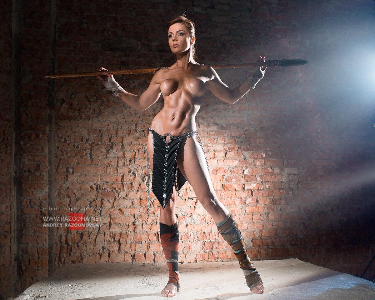 Female sex gladiator nude