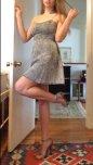 amateur photo Little grey dress