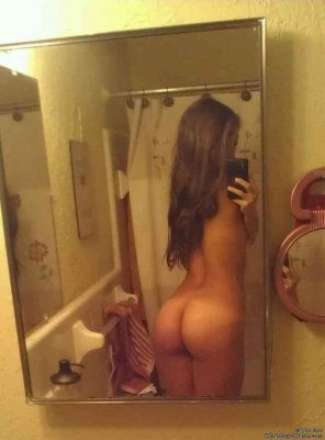amateur photo Mirror butt