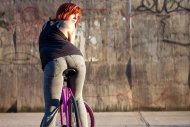 amateur photo Bike rider