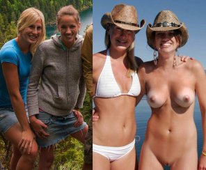 amateur photo Cowgirls