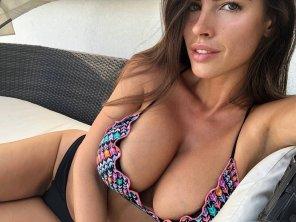 amateur photo Tension resistant bikini