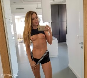 amateur photo Mary Kalisy selfie