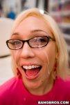 amateur photo Running down her cheeks