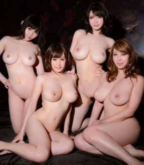 amateur photo Gaggle of gorgeous gals