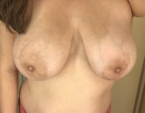 amateur photo Who likes big veiny tits on Titty Tuesday? :)