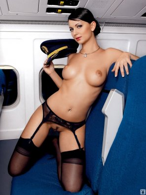 amateur photo Andreja Karba naked flight attendant