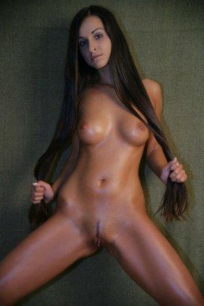 amateur photo Long hair