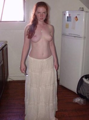 amateur photo Topless...