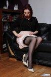 amateur photo Demure Stockings - Ross