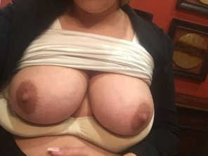 amateur photo FULL of milk...