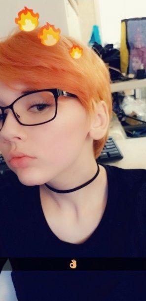 amateur photo One of few Glasses selfies I have