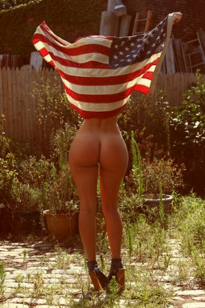 amateur photo A Great American Ass
