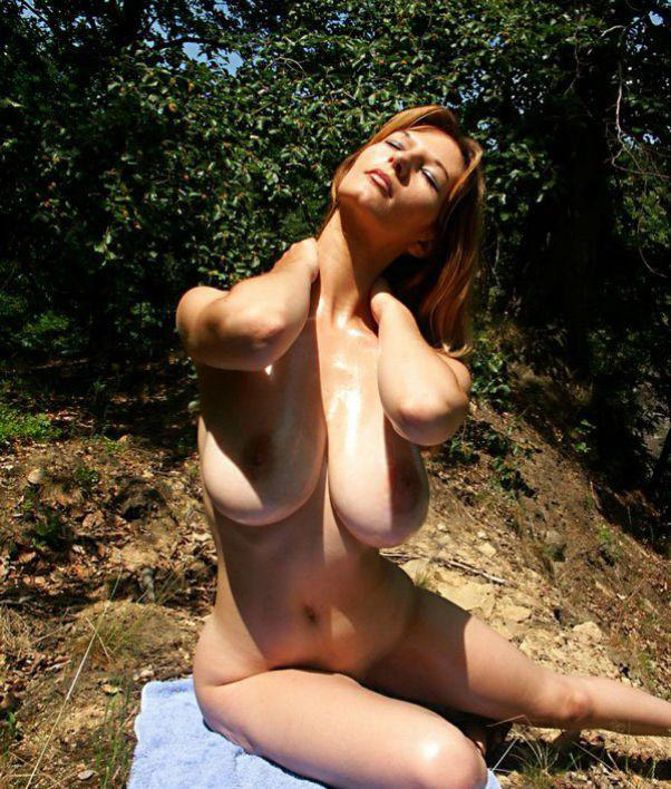 Sunbathing Porn