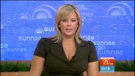 Samantha Armytage big boobs on TV