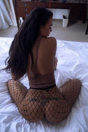 amateur photo Fishnets...
