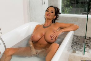 amateur photo Ava Addams Bath tub specials