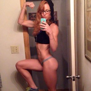 amateur photo Fit Ginger