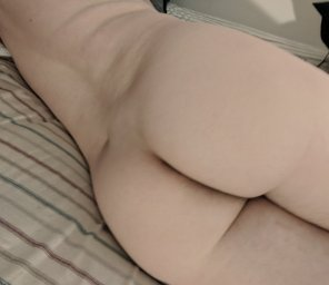amateur photo First bare ass photo, be gentle! Or don't...😉