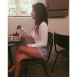 amateur photo Girl With Food