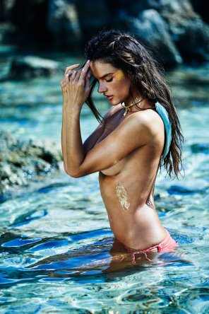 amateur photo Alessandra Ambrosio