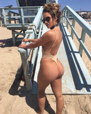 amateur photo Sexy at the beach