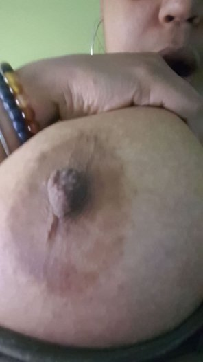 amateur photo My little nipple!