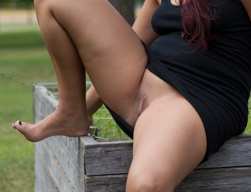 Outside Porn Photo