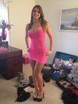 amateur photo Pink Dress