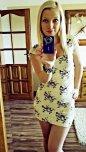 amateur photo Sundress selfie