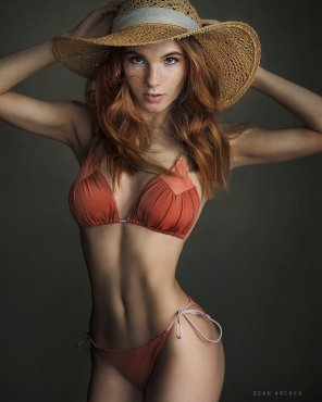 amateur photo Russian redhead