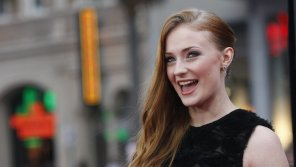 amateur photo Sophie Turner's contagious smile