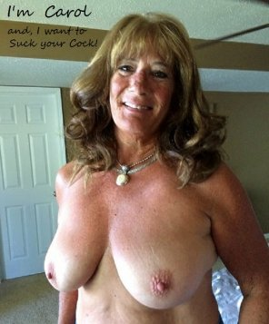 amateur photo Do you want Mama to suck your cock?