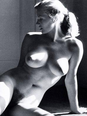 amateur photo Anita Ekberg, 1956