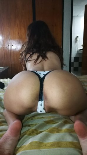 amateur photo I've been naughty and need a good spanking